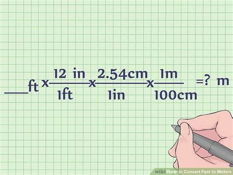 4 meters to feet how to convert feet to meters with unit converter wikihow