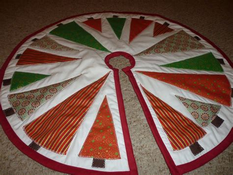 Patchwork Tree Decorations - the best in the world quilted tree skirt