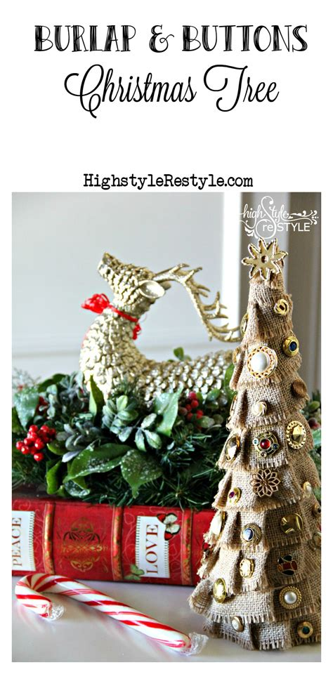 29 news bed bugs in christmas trees diy burlap and buttons tree highstyle restyle