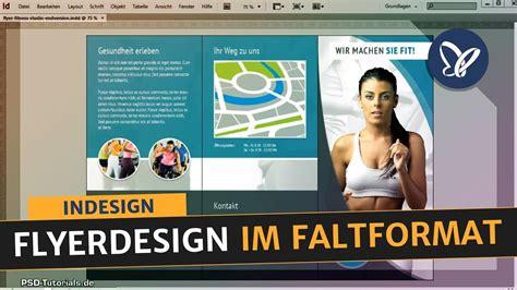indesign tutorial flyerdesign im faltformat erstellen
