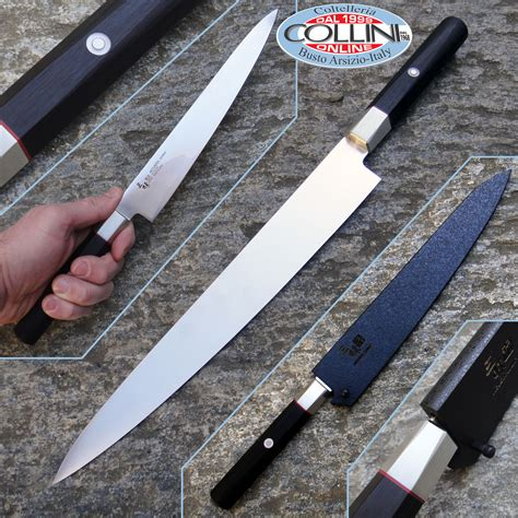Mcusta Kitchen Knives Mcusta Zanmai Hybrid Vg 10 Sujihiki 240mm Hz2 3010v Kitchen Knife
