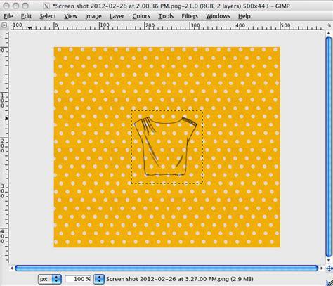 line pattern gimp made by meg gimp tutorial customize a line drawing