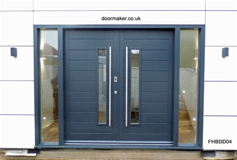 contemporary double front door contemporary front doors oak iroko and other woods