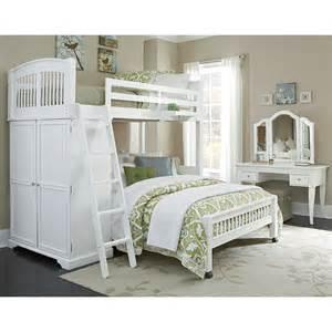 Loft Bed Hayneedle Walnut Locker Loft Bed White Bunk Beds Loft