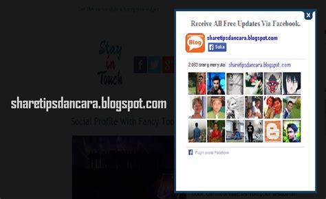 membuat share facebook php cara membuat pops up facebook like di blogger menggunakan