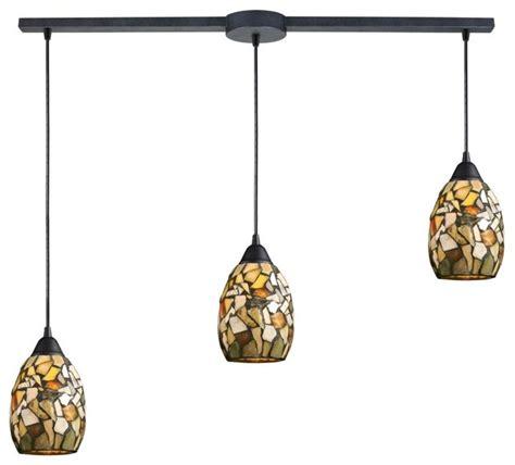 multi pendant lighting kitchen three light rust multi light pendant craftsman