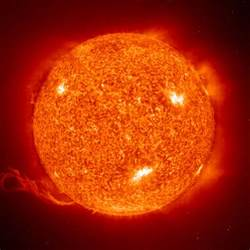 this closest the sun duh i love this image of our nearest star it