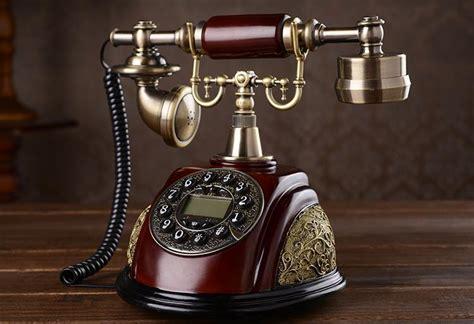 Antique Telephone Vintage Fashion Telephone american style antique rotating telephone fashion phone fashioned vintage telephone