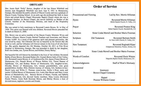 obituary template obituary template obituary template