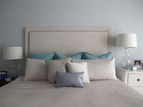 Make An Upholstered Headboard by Brock Interior Design How To Make An Upholstered