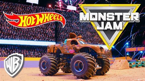 scooby doo monster jam truck toy wheels monster jam scooby doo youtube