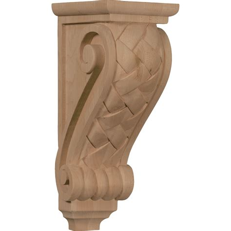 Maple Wood Corbels Ekena Millwork Corbel Maple Corw05x07x14bwma