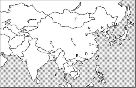 world geography east asia unit  map quiz capitals