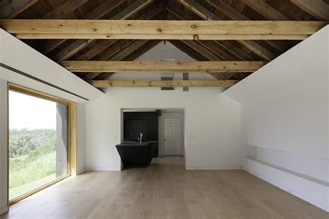 vaulted ceiling beams renovated home has open vaulted ceiling with exposed beams