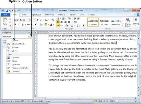 Find Who Search You On Find Replace In Word 2010