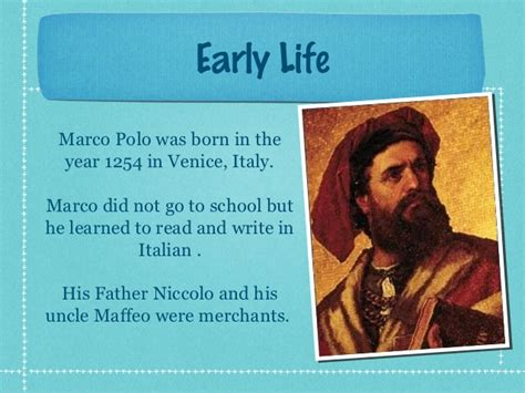 marco polo facts biography travels marco polo life