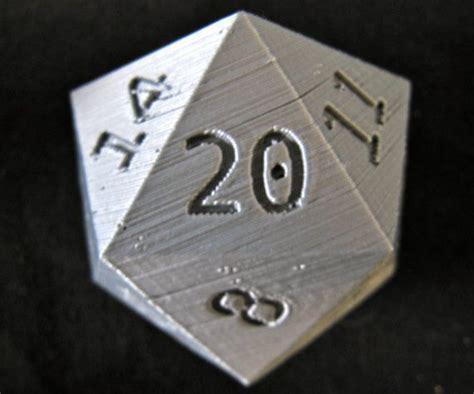 printable d20 dice d20 large 3d printed dragons