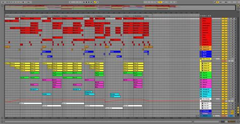 Electropop Ableton Pro Template Project Maschine Ableton Template
