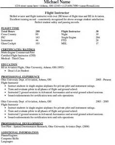 aircraft maintenance instructor resume sales