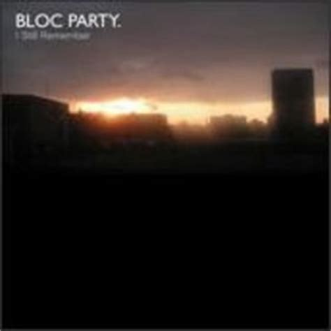 i still remember bloc party amazon com bloc party i still remember cd single w
