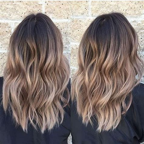 how to ombre shoulder length hair 25 best ideas about medium length ombre hair on pinterest