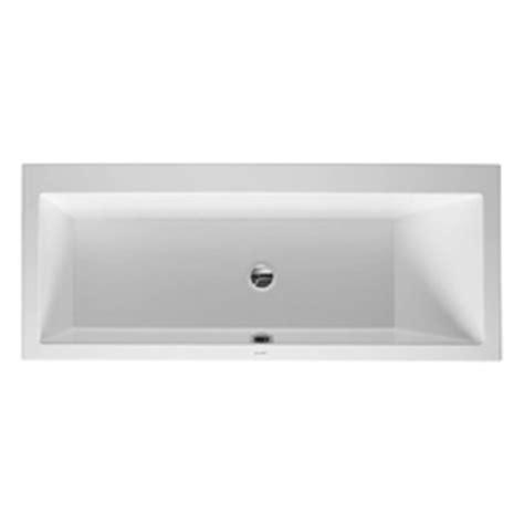 duravit vero bathtub vero bathtub built in bathtubs from duravit architonic