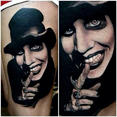 marilyn manson tattoo marilyn tattoos
