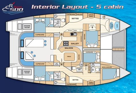 catamaran floor plan the majestic catamaran layout