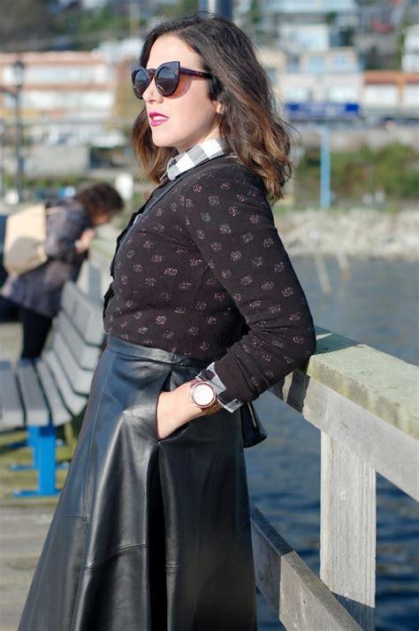 blogger republic leather midi covet acquire