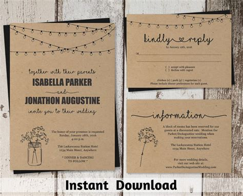 sweet etsy invitations bundles and much more