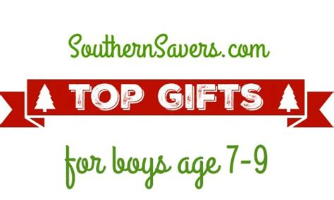 hot christmas gifts age 9 boy gift guide giveaway top gifts for boys 7 9 southern savers