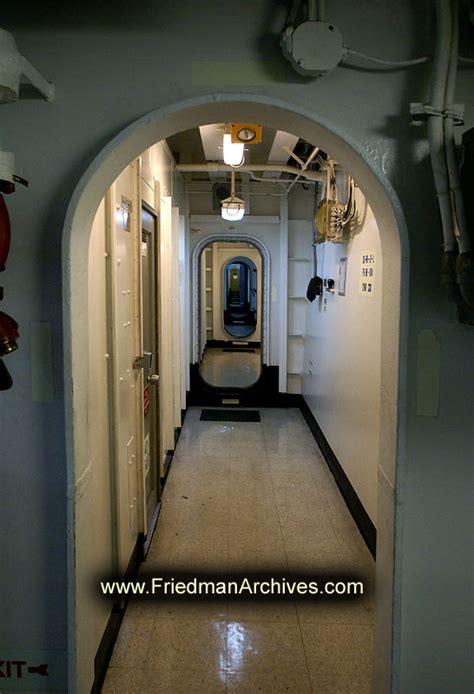 aircraft carrier hallway