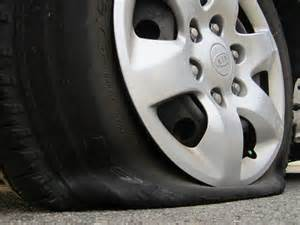 Car Noise After Changing Tires Flat Tire Foul Play At Shelly Centre Rooftop Parking Lot