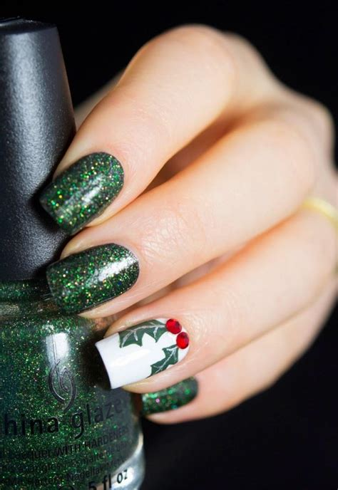Deco Noel Ongle En Gel by D 233 Co Ongles No 235 L Et Nouvel An 49 Inspirations Exquises