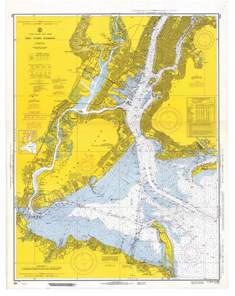 map new york harbor mariners weather log vol 51 no 2 august 2007