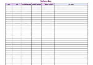 free exercise log template sle workout log template 8 in word pdf psd