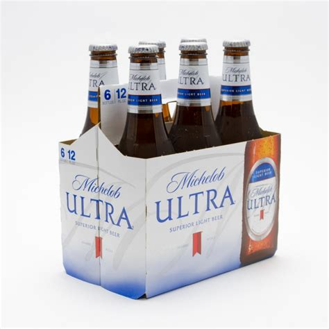 michelob ultra light michelob ultra light 12oz bottle 6 pack
