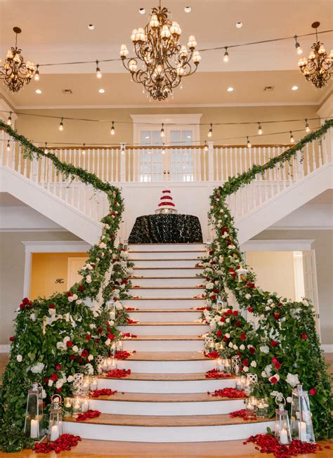stairs decorations unique ideas to decor stairways for wedding weddceremony com