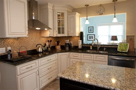 average size kitchen island average size of kitchen island with granite countertop and white cabinet also wall clock