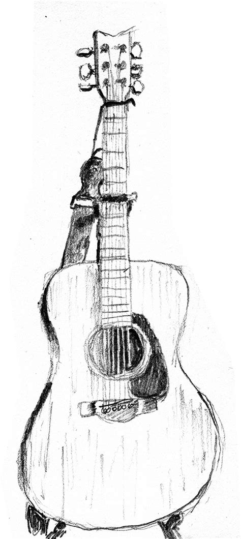 easy guitar book sketch artistic images creative bytes design and