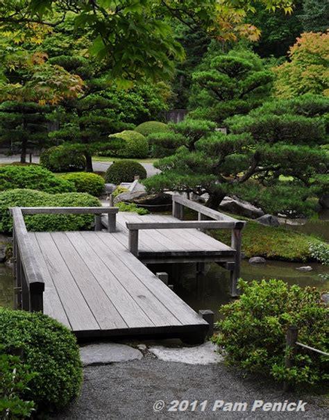 garden footbridge seattle japanese garden a tranquil oasis in the city