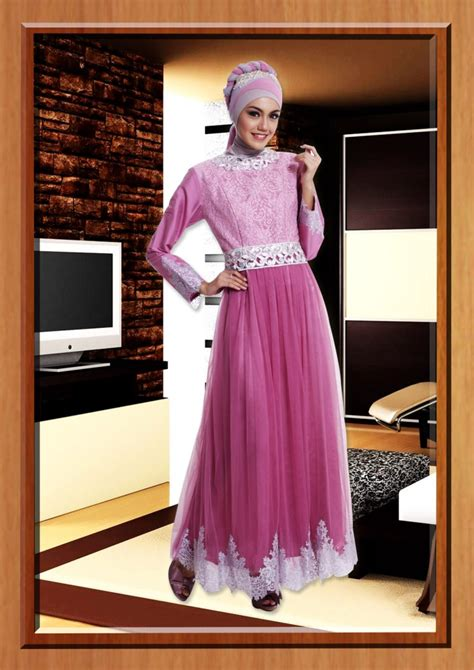 Gamis Vemmela Gemma 10 Gamis Cantik Terlaris cleopatra pink baju muslim gamis modern