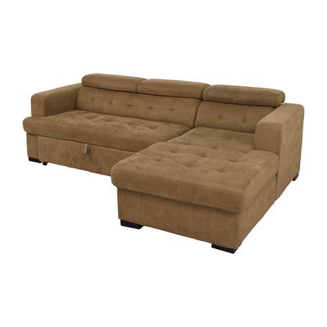 bobs furniture sofa 40 off bob s furniture bob s furniture brown pull out
