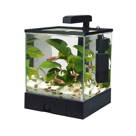 L Fish Tank by Fish R Aquarium Fish Tank Aqua Box Black 5 5l Ebay