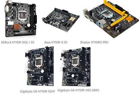 Paket Mobo Motherboard I3 Ram Casing Vga motherboard intel skylake h110 dibawah 50