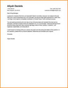 Cover Letter For Undergraduate by Career Center Undergraduate Exle Cover Career Center
