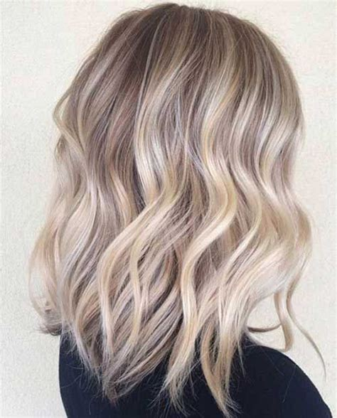 blonde lob wazy baircut 20 trendy ways to style a blonde bob popular haircuts