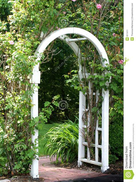 Garden arbor stock image image 811411