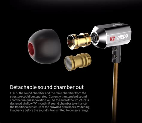 Speaker Bluetooth M333 original kz ed9 bowl tuning nozzles earphone in ear monitors hifi earphone with microphone