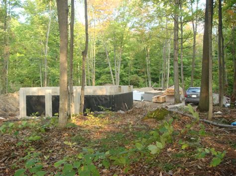 Cottage Foundation by Stages Of Building A Cottage Foundation Everyday Weekender